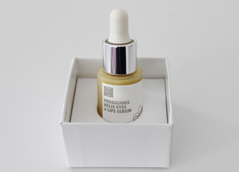 Packaging Prodigious Helix Eyes & Lips Serum Eterea Cosmesi