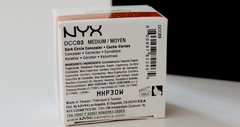 Inci Dark Circle Concealer NYX Professional Makeup