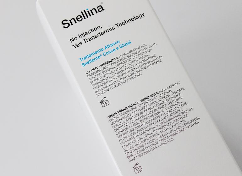 Inci Snellina Labo Transdermic Technology Cosce-Glutei Labo