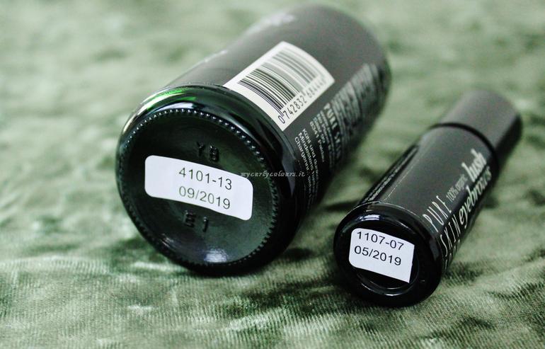 Data di scadenza Organic Dental Oil e Lash Eyebrows Pure Skin Food