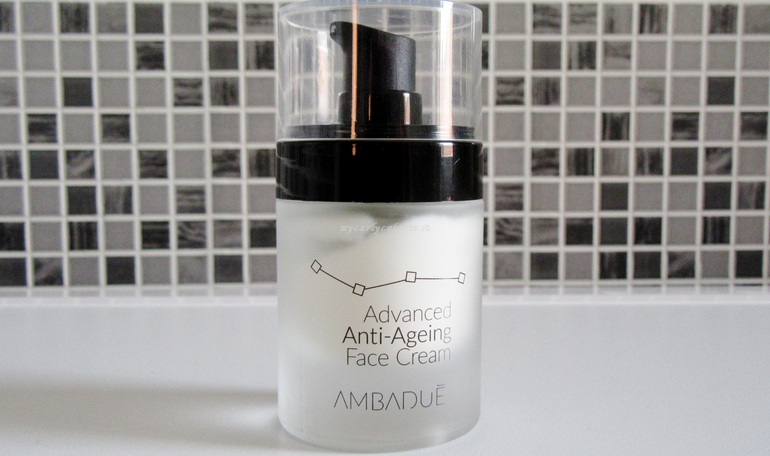 Packaging crema viso Ambadué Advanced Anti Ageing Face Cream