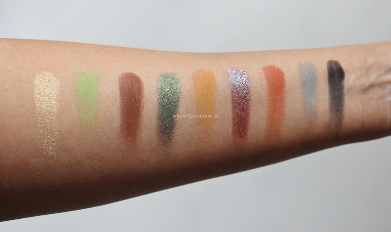 Swatch AS Palette We Make-up Into The Forest