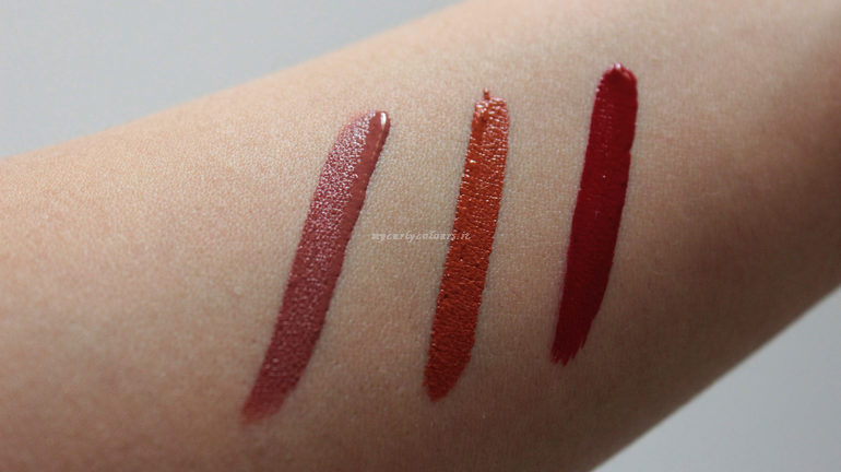 Swatch Liquid Lipstick EVER We Make-up 05/25/27