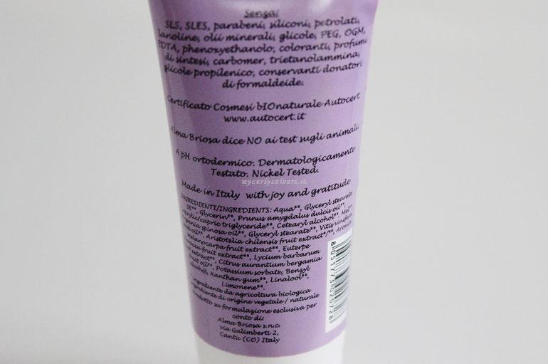 Inci Crema Mani 4 Bacche Essentials Alma Briosa