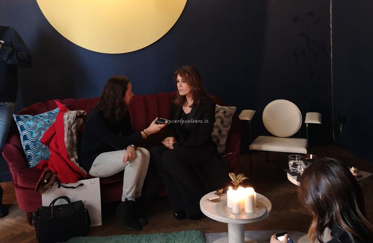 Intervista presentazione ES Elena Sofia Ricci e Strega del Castello