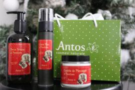 Cofanetto Natale 2018 Antos con prodotti al Panettone