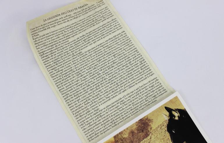 Leggenda dell' Olio di Aradìa