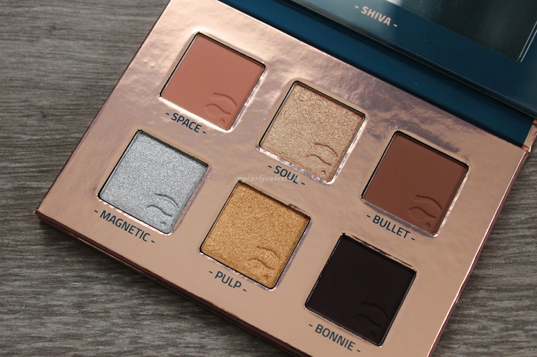 Swatch Shiva Palette Kali Collection Mulac