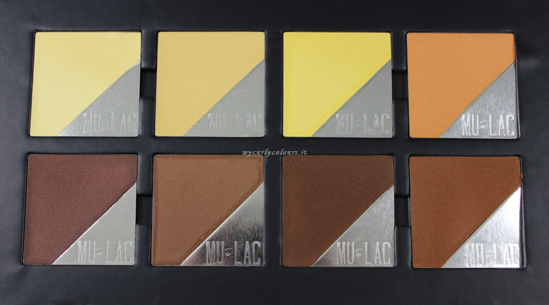 Cialde Contouring and highlighting Face Palette Atene Mulac
