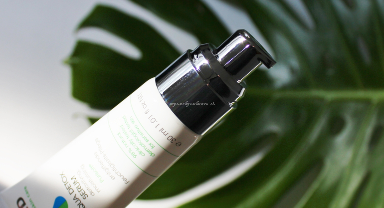 Aqua Detox Serum Biomed dettaglio packaging