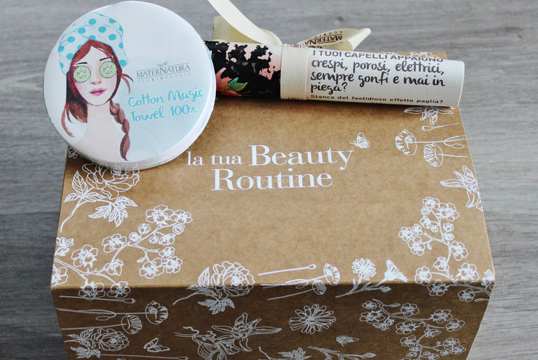 Beauty Routine Capelli Crespi MaterNatura