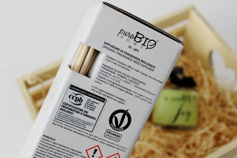 Specifiche Diffusore di fragranza PuroBio Home Joy