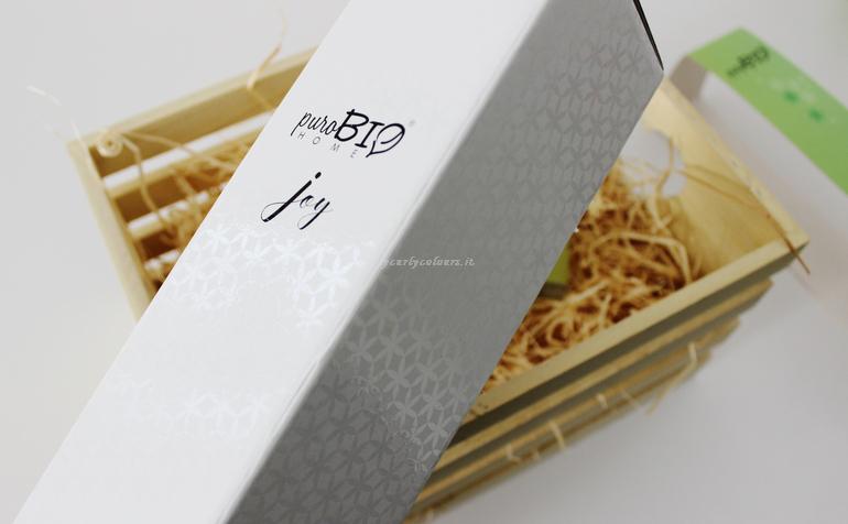 Packaging diffusore di fragranza PuroBio Home Joy