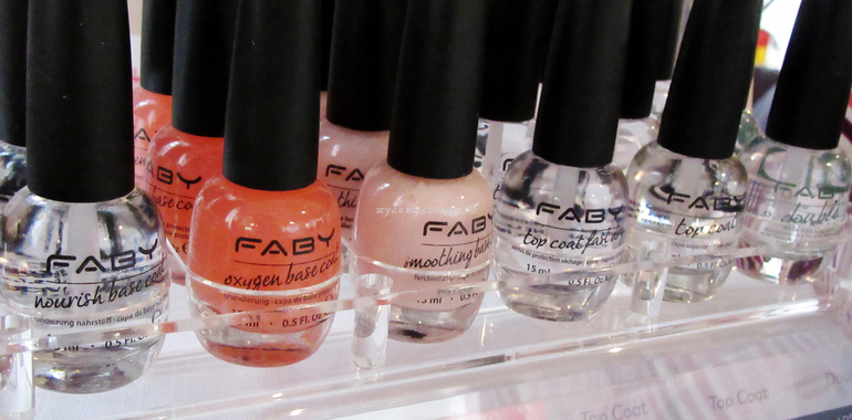 Top Coat e Base Coat Faby
