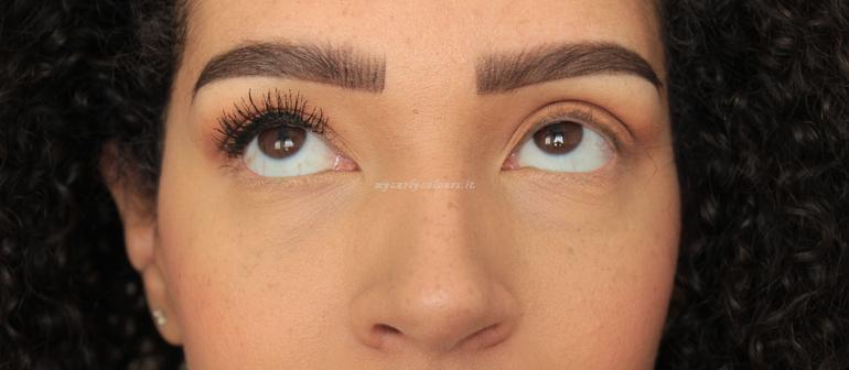 Effetto prima applicazione Double dream mascara PuroBio Cosmetics