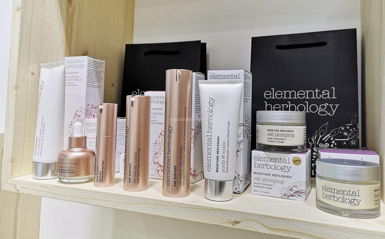 Elemental Herbology stand Cosmoprime Cosmoprof 2019