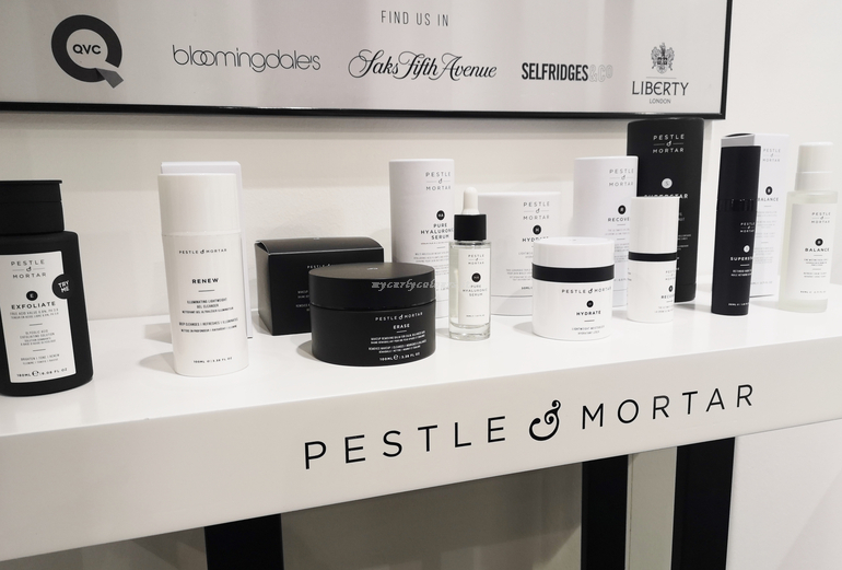 Pestele and Mortar stand Cosmoprime Cosmoprof 2019