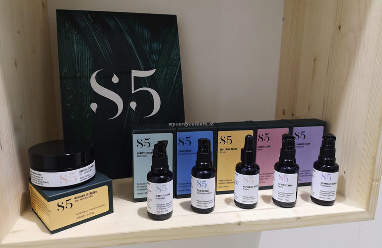S5 stand Evolve Beauty Cosmoprof 2019 Cosmoprime