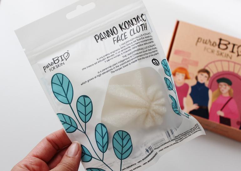Panno Konjac Face Cloth puroBio for Skin