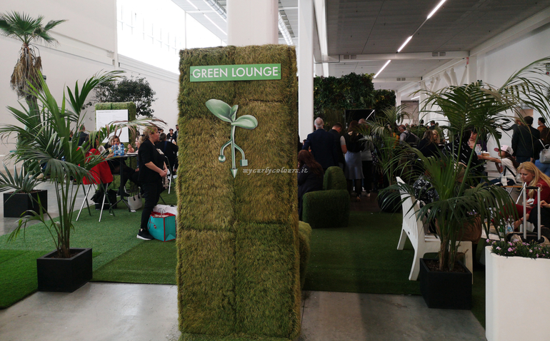 Green Lounge Mall Cosmoprof Bologna 2019