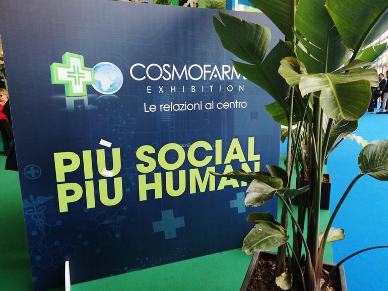 Cosmofarma Exhibition 2019 più social più human