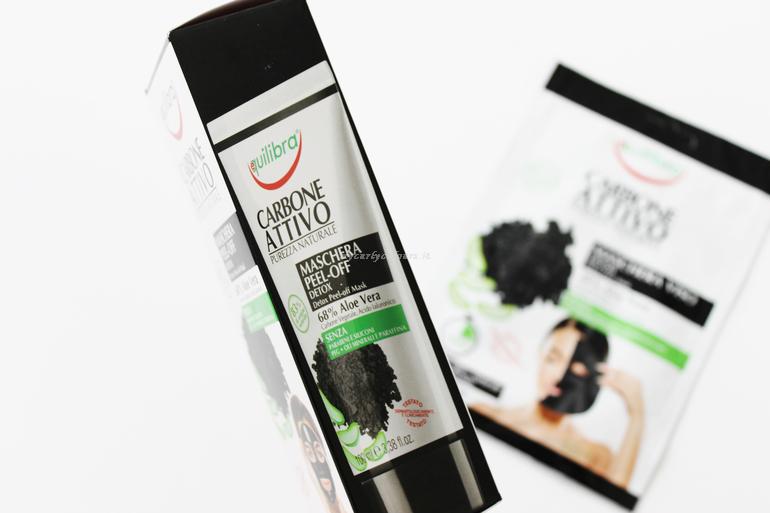 Pack maschera Peel off Linea Carbone Attivo Equilibra