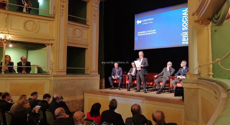 Conferenza stampa Teatro Gerolamo Milano Cosmofarma Exhibition 2019