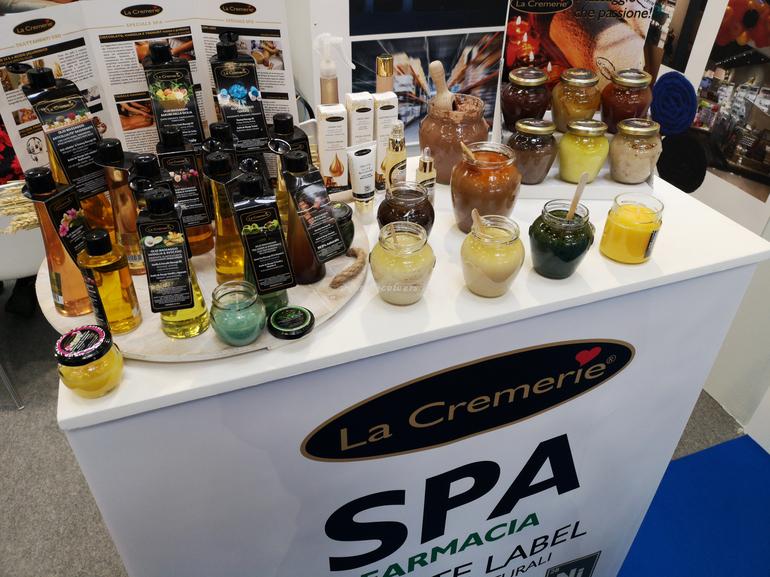 La Cremerie Cosmofarma Exhibition 2019