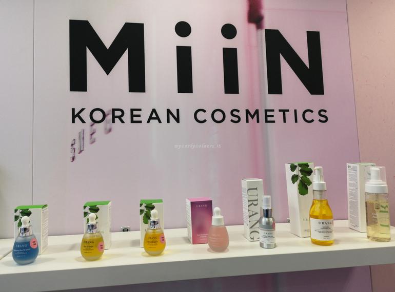 Miin Korean Cosmetics Cosmofarma Exhibition 2019