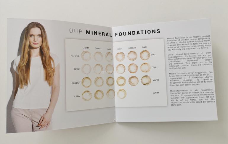 Annabelle Minerals minerla foundation shades