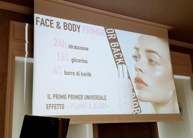 Face & Body Primer Dior Backstage masterclass Dior Con Davide Frizzi