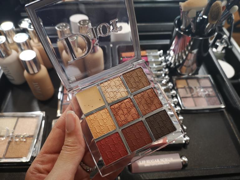 Novità Eye Palette 003 Amber Neutrals Dior Backstage masterclass Dior con Davide Frizzi