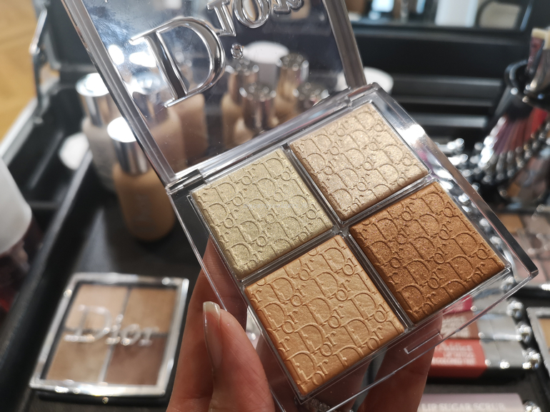 novità Glow Face Palette 002 Glitz masterclass Dior con Davide Frizzi