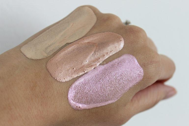 Swatch Resplendent Liquid Stardust PuroBio Cosmetics