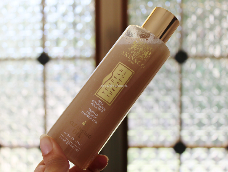 Cleansing Oil Truffle Therapy Skin & Co Roma emulsionato