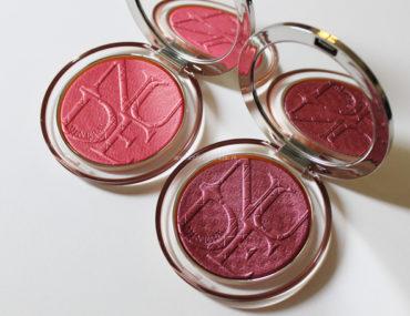 Diorskin Nude Luminizer Blush Dior 10 Coral Pop e 11 Plum Pop