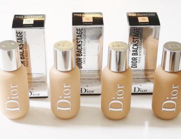 Face & Body Foundation Dior Backstage 1N, 2N, 2.5 N, 3N