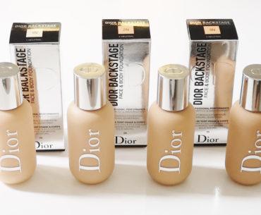 Face & Body Foundation Dior Backstage