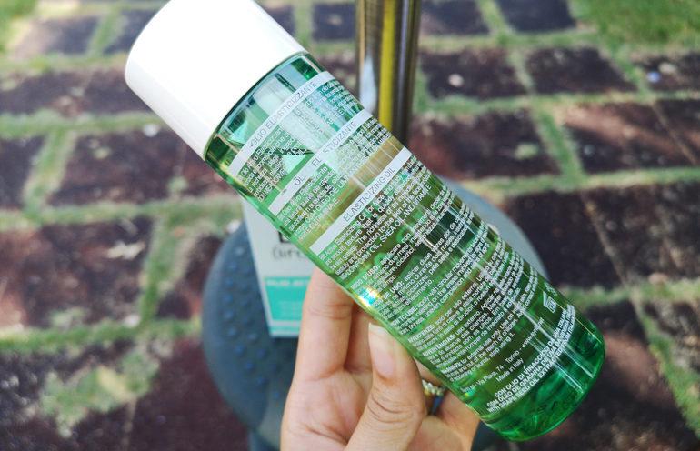 Olio Attivo Elasticizzante viso e corpo Blift specifiche sul packaging