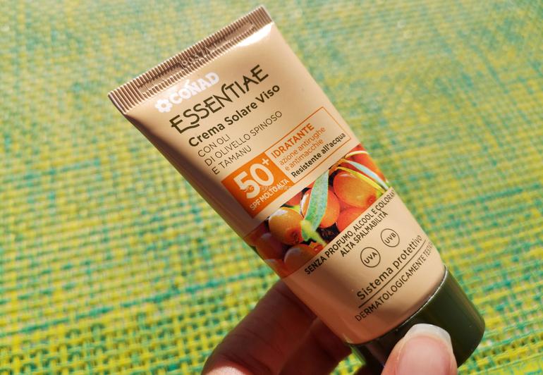 Crema solare viso SPF 50 Conad Essentiae