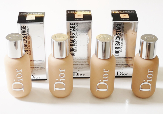 Face and body Foundation Dior Backstage1N,2N,2.5N,3 N