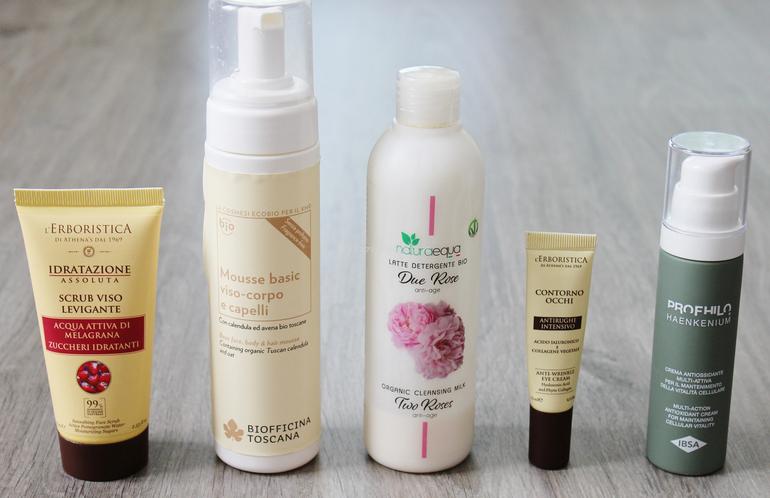 Prodotti consigliati per iniziare una skin care routine
