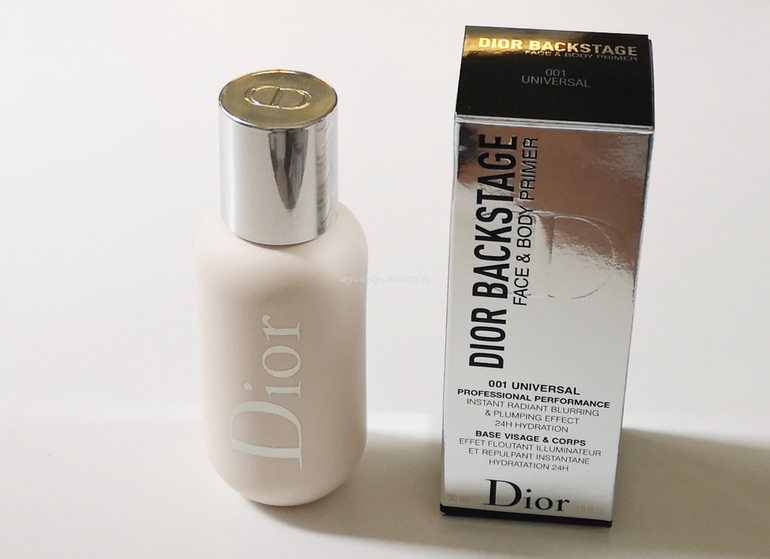Face and body Primer Dior Backstage