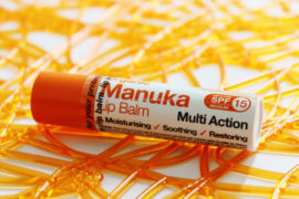 Manuka lip balm Multi Action SPF 15 Dr Organic