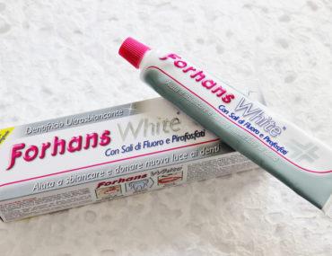 Dentifricio Forhans White
