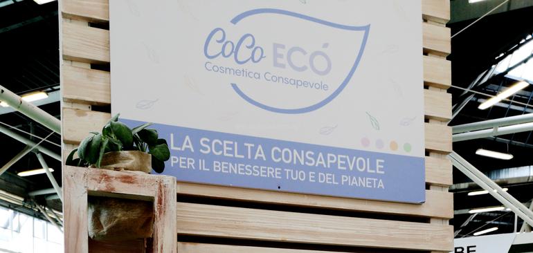 CoCo Ecò cosmetica cosnapevole Aulina Stand SANA 2019