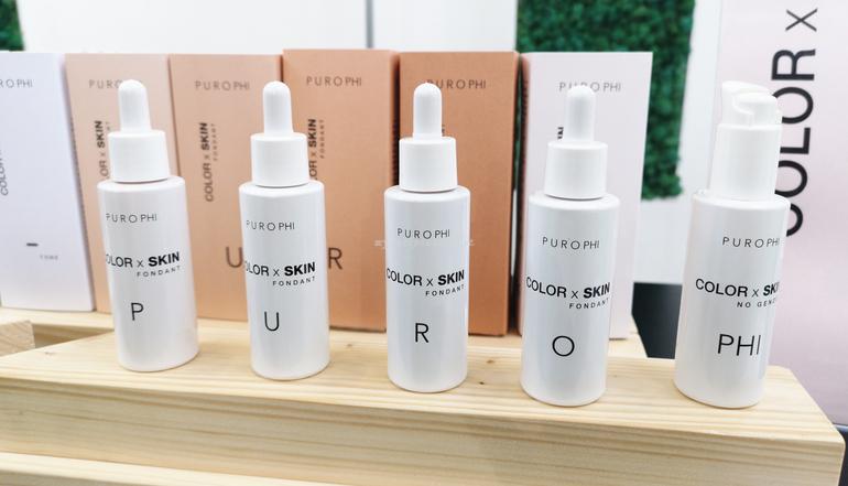 Novità make up Purophi Color x Skin stand SANA 2019