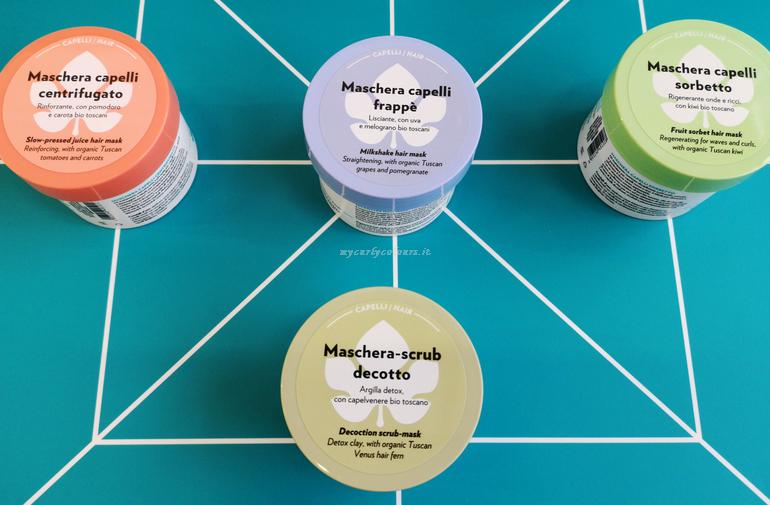 Novit maschere capelli Biofficina Toscana stand Sana 2019