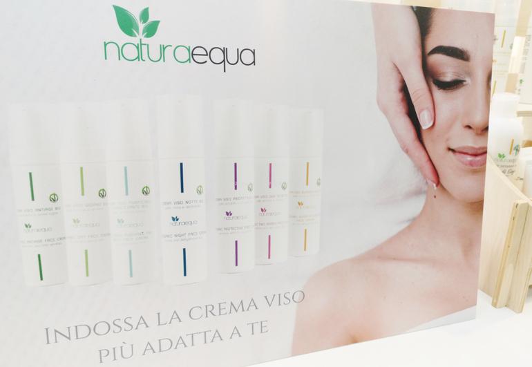 Nuovo packaging airless Naturaequa stand SANA 2019