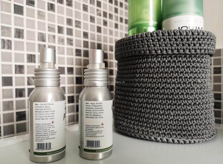 Inci detergente per pennelli e igienizzante mani Antos